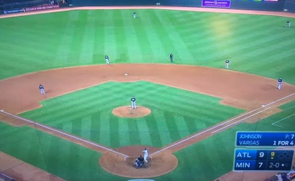 5 - Partial Ted Williams shift